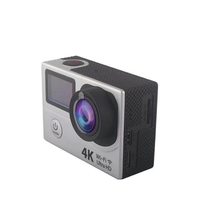 Goodpa Penjualan Panas H3 WiFi 4 K 2.0 Inch Layar Besar Asli H3 Kamera Aksi Murah HD Mini Olahraga DV 1080 P Manual dengan Wifi HD Ultra Silver