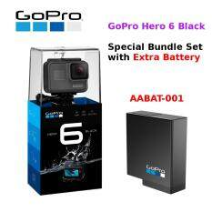 GoPro Hero 6 Black / Hero6 Black Action Camera + Extra Battery