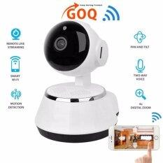 GOQ Q6 IP CAM 720P HD Wifi IP Security Camera Wireless CCTV Night Vision  V380 App