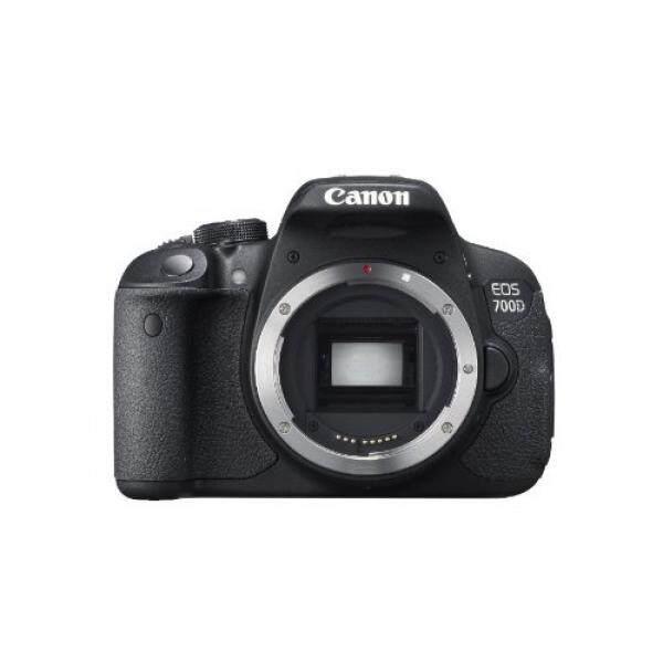 GPL/Canon EOS 700D 18MP Digital SLR Kamera (Hitam) (Hanya untuk Tubuh) -Versi Internasional (TANPA JAMINAN)/kapal dari AMERIKA SERIKAT-Intl