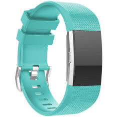 Grace Karin New Sport Silicone Wrist Watch Bands For Fitbit Charge 2 Replacement Strap Mint Green