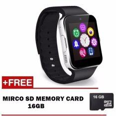 GT08 SmartWatch Wearables Smart Watch with Hands-Free Call / Camera /  Bluetooth Wireless Connect for Android & iOS Device With SD Memory Card  16GB