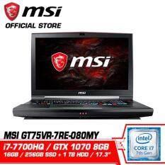 GT75VR 7RE 080MY TITAN SLI (GTX1070 8GB GDDR5) (Pre-Order 6-8 Week) Malaysia