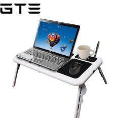 GTE E-Table Portable Foldable Laptop Table with Cooling System - Fulfilled by GTE SHOP Malaysia