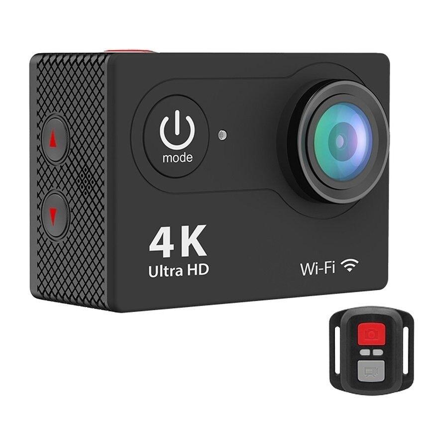 H9R Jarak Jauh Pengendali 2-Inci LCD Ultra-hd 4 K WIFI Olahraga Kamera Aksi (Hitam) -Internasional