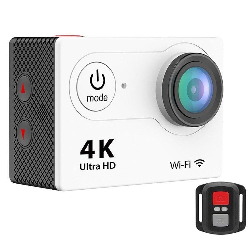 H9R Jarak Jauh Pengendali 2-Inci LCD Ultra-hd 4 K WIFI Olahraga Kamera Aksi (Putih) -Internasional