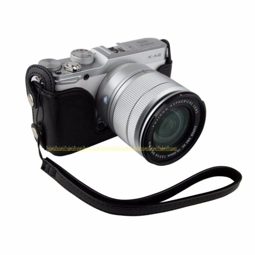 Setengah Kasus Kamera Kulit PU untuk Kamera XM1 XA1 XA2 XM2 XA10 Sheng HOTT 585-Internasional