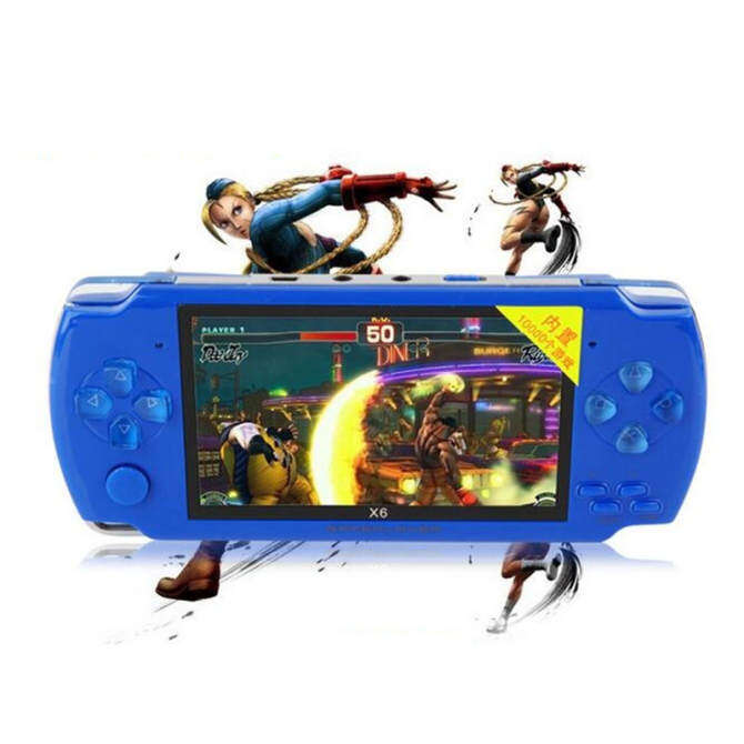 Handheld Game Console 4.3 Inch Screen Mp4 Player MP5 Game Player Real 8GB Support for Psp