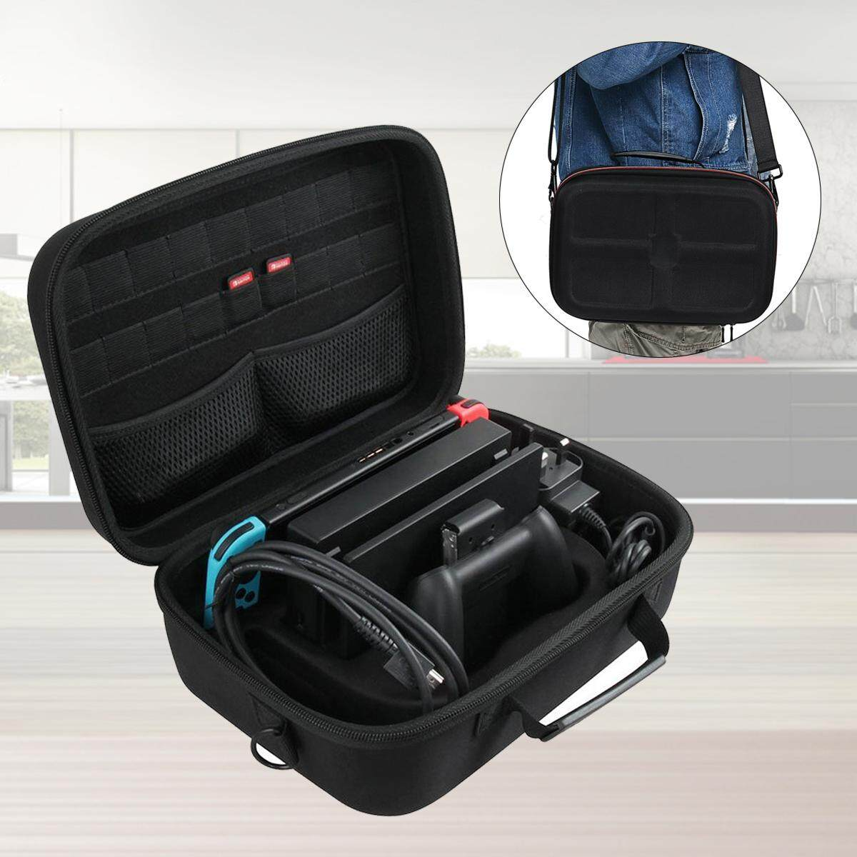 Coupon Hard Eva Carry All Travel Case For Nintendo Switch System By Hermitshell Intl
