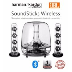 Harman Kardon JBL Soundsticks 2.1 Wireless Bluetooth 2.1 Speaker & Subwoofer Multimedia Sound System - Original Malaysia