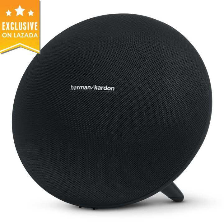 Harman Kardon Onyx Studio 3 Wireless Speaker System with Rechargeable Battery and Built-in Microphone (Black)