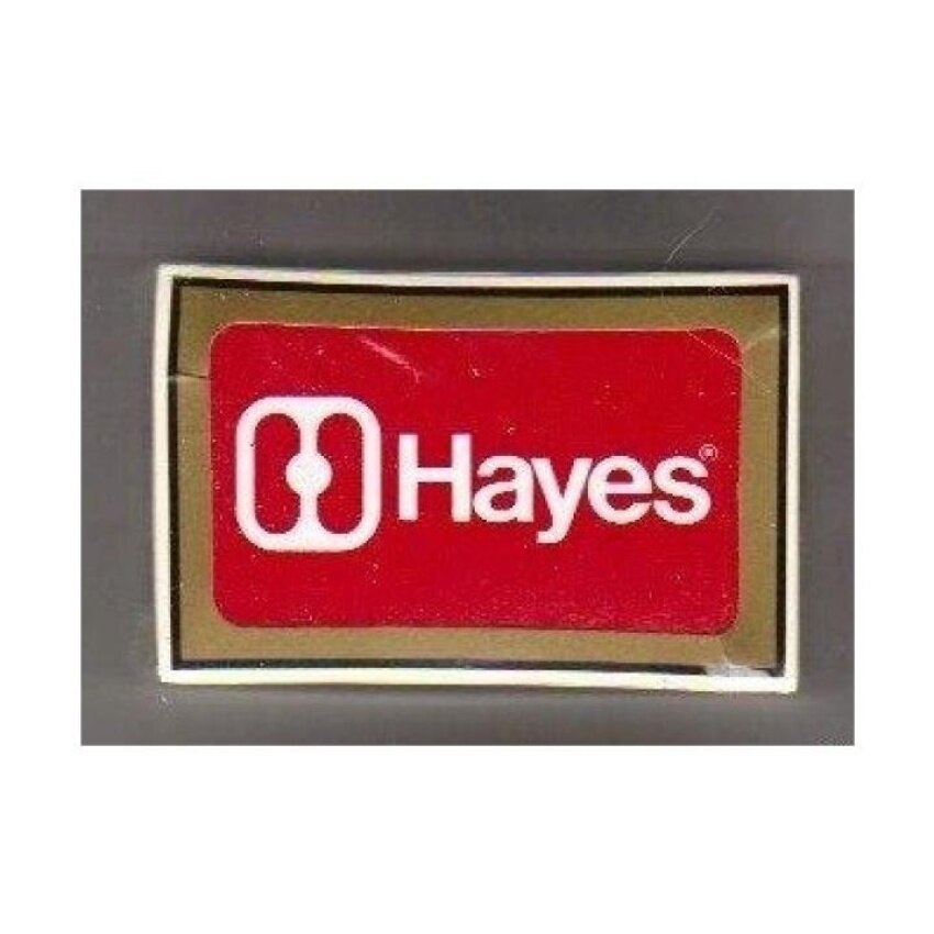Hayes Modem Playing Cards - Manufacturers Promotion - intl