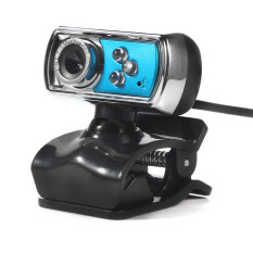 Hd 12.0mp 3 Usb Webcam Camera With Mic And Night Vision For Pc (blue) By Sportschannel.