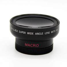 HD 37MM 0.45x Wide Angle Macro Conversion Lens for Canon Nikon