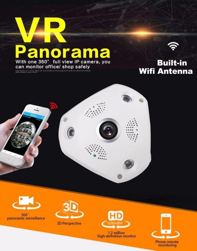Rp 497.000 AllRise HD 960P Wireless 360 Degree VR Panorama WIFI IP Camera Indoor 3D IPC Security Surveillance CCTV System ONVIF Hidden Webcam Home ...