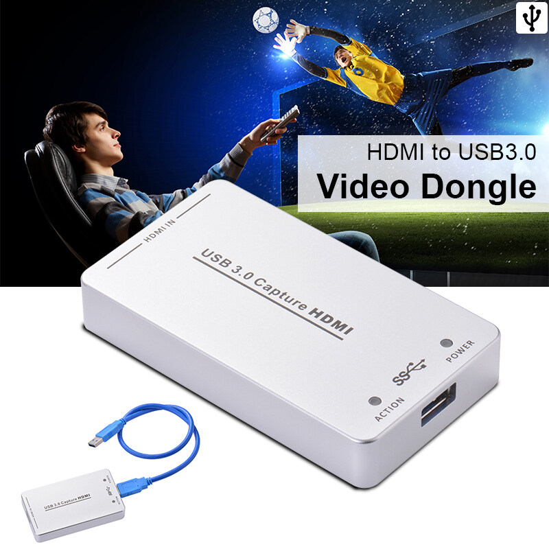 GoTime HDV-UH60 HDMI to USB3.0 Video Capture Dongle 1080P 60FPS Box for Windows AH234 - intl