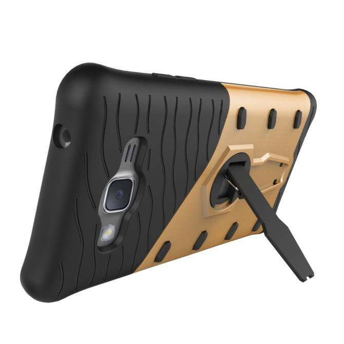 High Quality 360 Rotating Armor 2 in 1 PC and TPU Soft Gasbag Stand Back Case