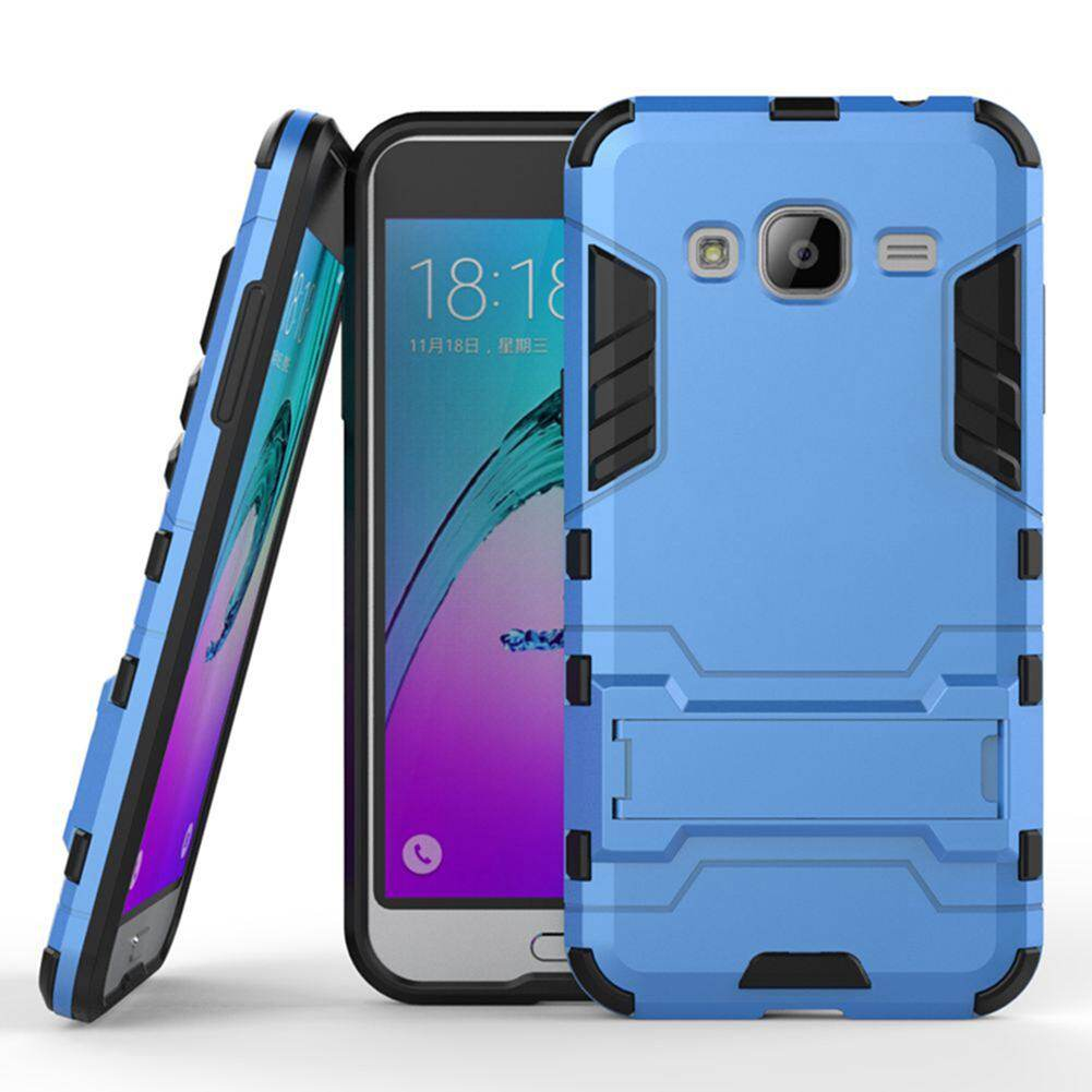 High Quality Armor 2 in 1 PC and TPU Soft Gasbag Stand Back Case Cover For