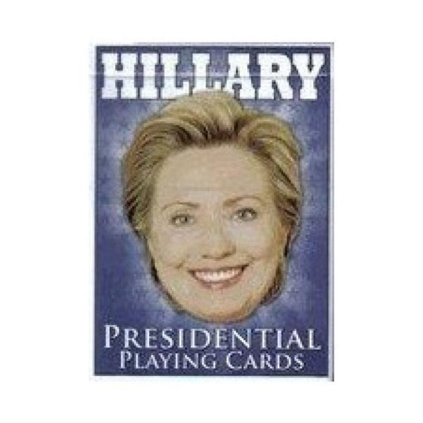 Hillary Presidential Playing Cards - intl