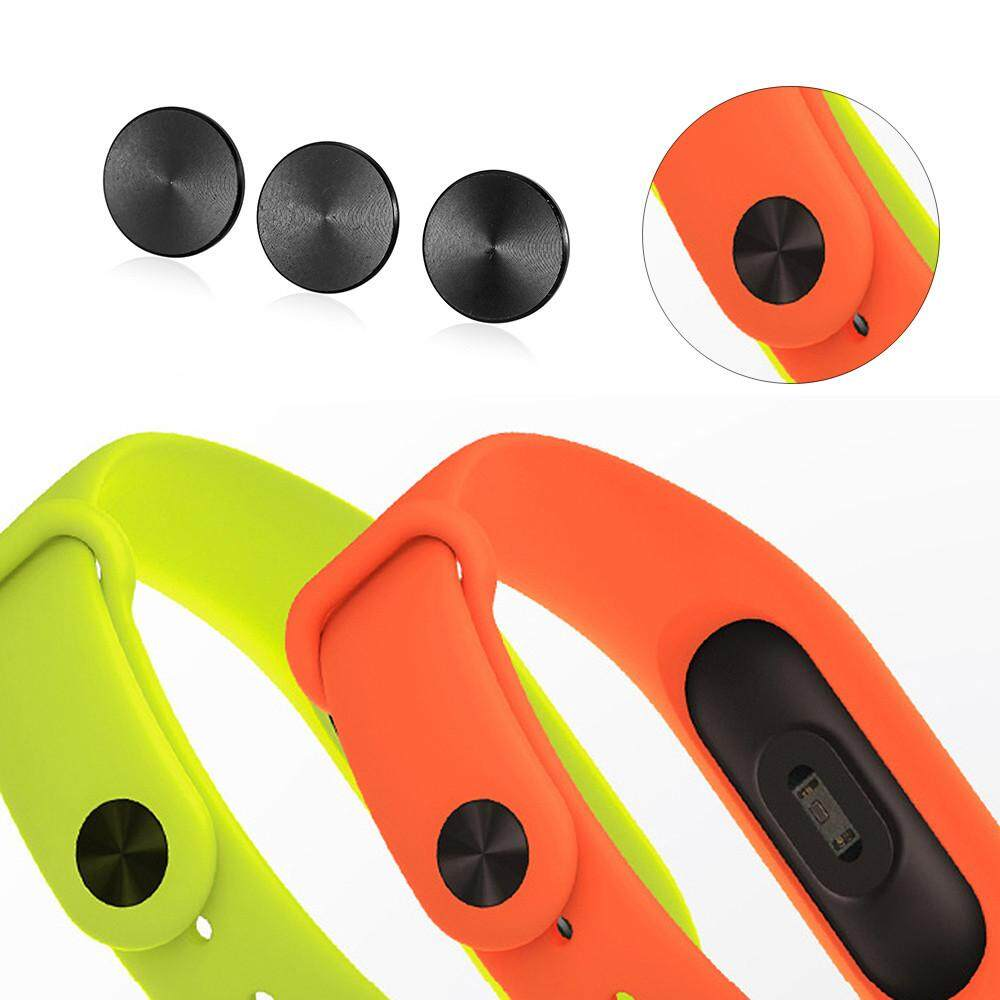Hot Sale 3PCS Black Band Buckle For Xiaomi Miband 2 Smart Wristband Wrist Strap