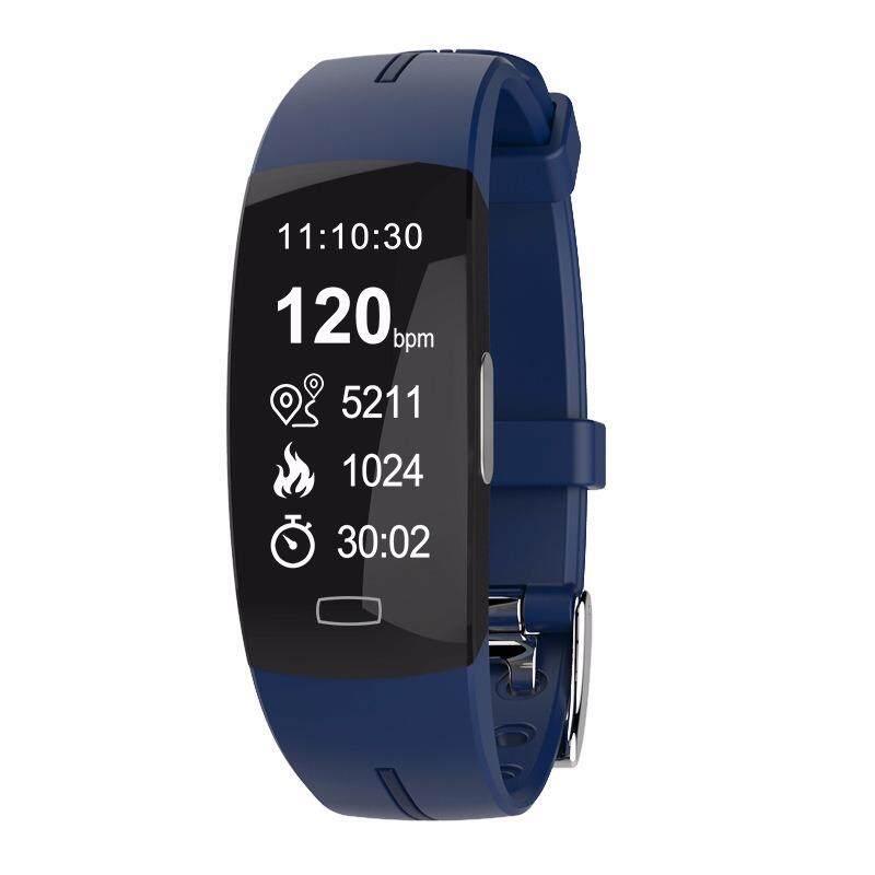 Monitor denyut jantung alat pengukur langkah Q7 untuk IOS Android tahan. Source .
