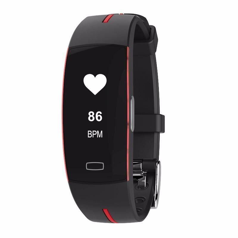Jual Panas Hadiah Kesehatan Gelang P3 0.96 Inch Layar Pintar Jantung Kecepatan Gelang Olahraga Pintar Selai Tangan Smartband Pintar Gelang -Internasional