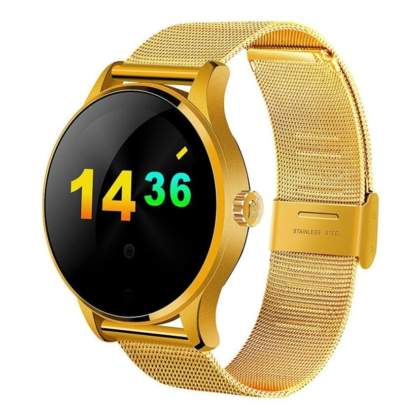 Jual Panas K88H Bluetooth Pintar Jam Tangan Olahraga Kesehatan Smartwatchheartrate Monitor Tidur Monitor Alat Pengukur Langkah untuk Android IOS Ponsel & N- internasional