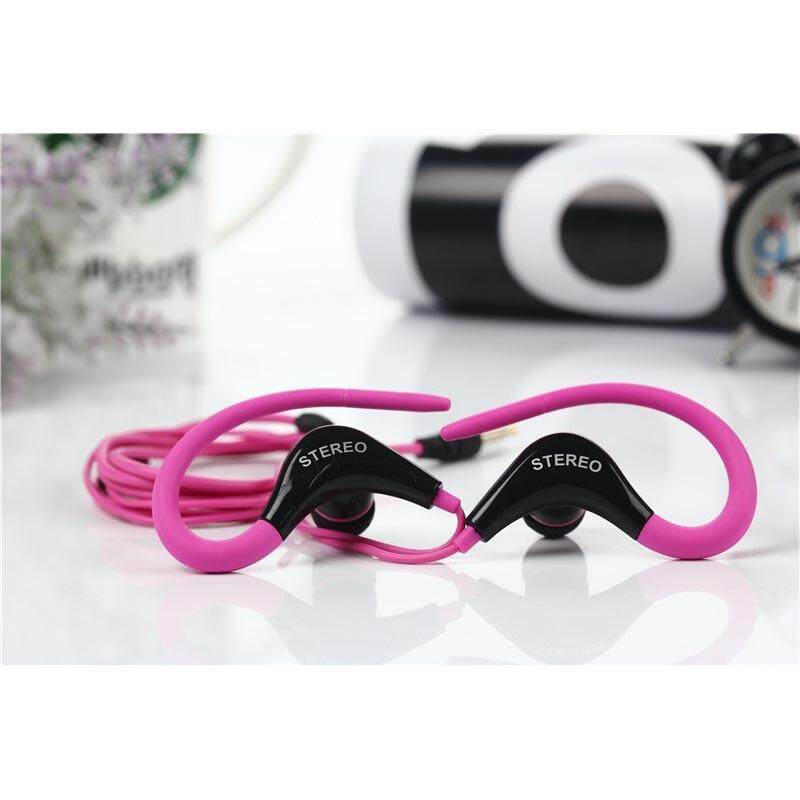 Panas Olahraga Telinga Menggantung Headphone Kompatibilitas Penuh 3.8 Universal Seluler Ponsel Headset Hai Fi Olahraga Telinga