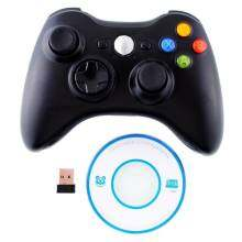 Hot Wireless USB Game Console Controller Gamepad Joystick Black ForPS3 PC Laptop Gaming 2.4GHz High quality