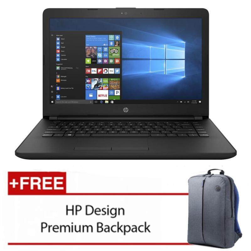 HP 14-bs077TX 14 Laptop Black (i3-6006u, 4GB, 1TB, ATI 520 2GB, W10H ) Malaysia