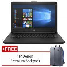 HP 14-bs537TU 14 Laptop Black (N3060, 4GB, 500GB, Intel, W10H) Malaysia