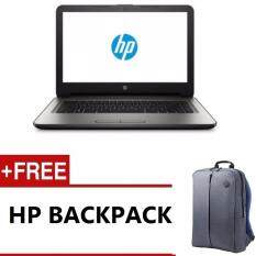HP 14-BS537TU / 14-BS538TU NOTEBOOK (N3060,4GB DDR3L,500GB,DVD,WIN10,1 YEARS WARRANTY) FREE BACKPACK Malaysia