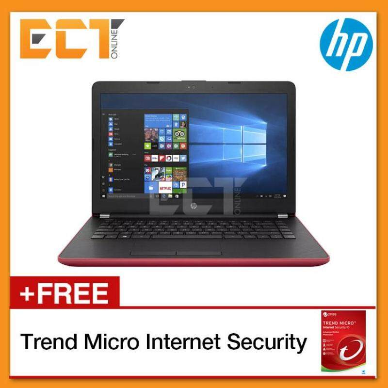 HP 14-BS577TU/BS580TU/BS581TU Laptop ( i3-6006U 2.00GHz,1TB,4GB,14,O/D,W10) - Silver / Black / Red Malaysia