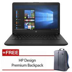HP 14-bs580TU 14 Laptop Black ( i3-6006u, 4GB, 1TB, Intel, W10H ) Malaysia