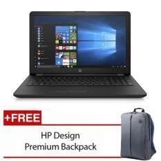 HP 15-bs641TX 15.6 FHD Laptop Black (i5-7200U, 4GB, 1TB, ATI 520 2GB, W10) Malaysia
