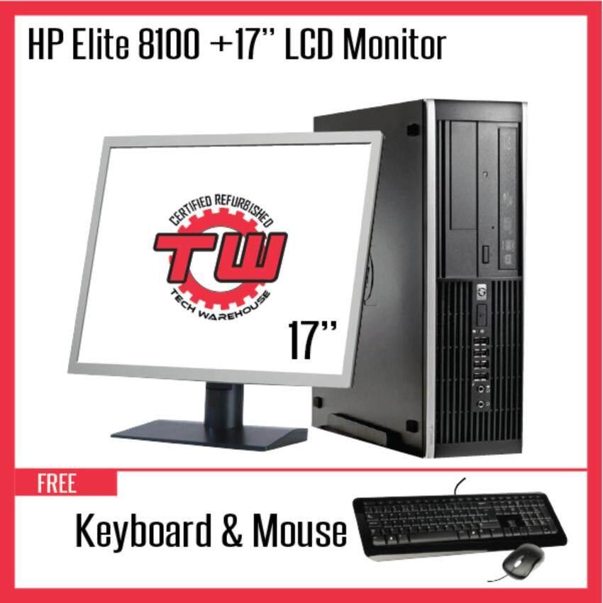 Mari kita periksa  HP Compaq Elite 8000 (SFF) Desktop PC C2D