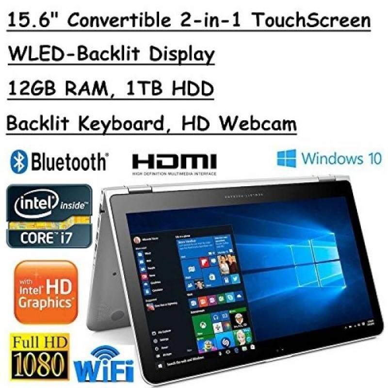 HP Envy x360 Convertible 2-in-1 Full HD IPS 15.6-Inch Touchscreen Laptop (Intel Core i7-7500U, 2.7GHz, 12GB RAM, 1TB HDD, Backlit Keyboard, HDMI, Bluetooth,802.11ac, Windows 10) Malaysia
