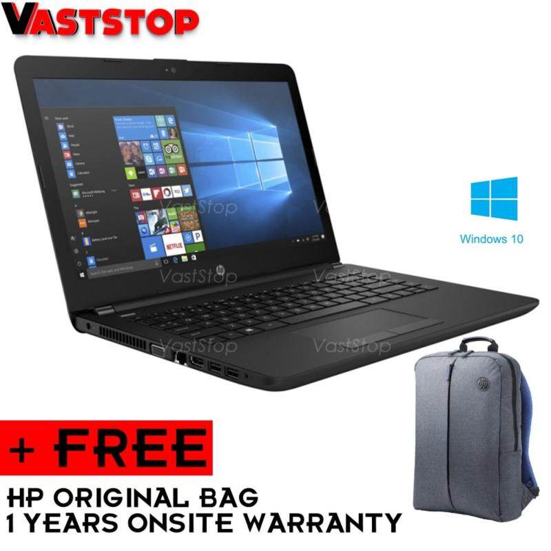 HP 14-bw019AX Laptop (AMD A9-9420/4GB D4/1TB/AMD 520 2GB/14˝HD/W10) Black Malaysia