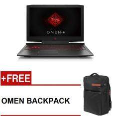 HP OMEN 15-CE030TX (i7-7700HQ, 15.6, 8GB DDR4, 1TB+128GB SSD,GTX 1050Ti 4GB,WIN10,NO ODD,2 YR WARRANTY) FREE OMEN BACKPACK Malaysia