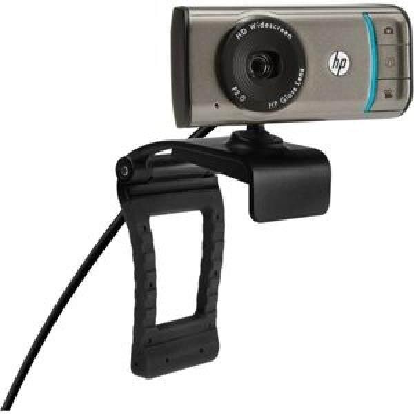HP Webcam HD-3100-720 P Layar Lebar Webcam dengan Truevision-Intl