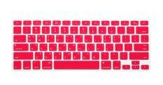HRH Korean Silicone Keyboard Cover Skin for Apple Macbook Pro Retina MAC 13 15 17 Air 13 (Pink) Malaysia