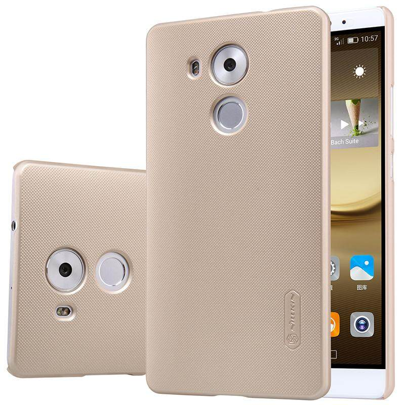 Nillkin Super Frosted Shield Cover Case For Huawei Mate 8 with 1pcs Screen film 6
