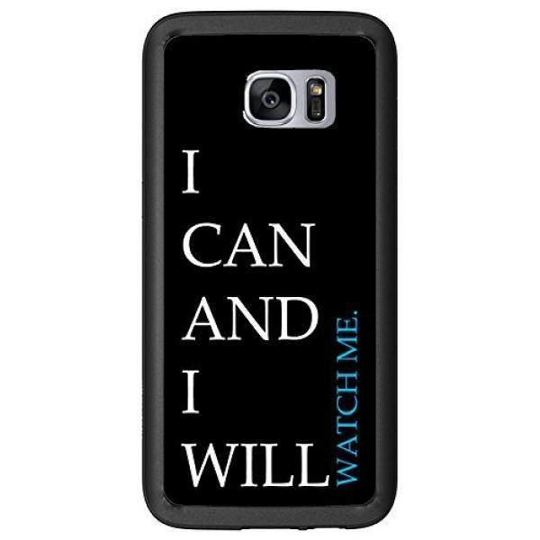 Aku Bisa dan Aku Akan Menonton Saya untuk Samsung Galaxy S7 Edge G935 Case Cover Atom Pasar-Intl