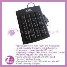 IBM USB Portable Mini Numeric Keypad/Keyboard Calculator for Laptop/Notebook PC User Malaysia