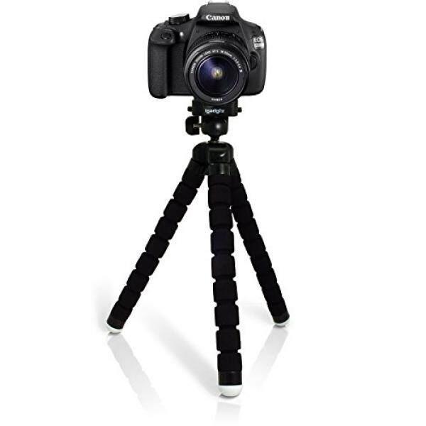 iGadgitz Large Universal Flexible Foam Mini Tripod for Canon EOS SLR DSLR Series Cameras Rebel Xsi T1i T2i T3i T4i T5i T6i T6s SL1 XS T3 T5 - intl