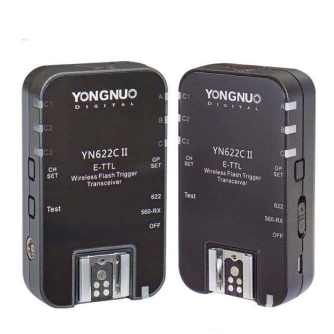(IMPORT) YONGNUO YN622C II YN 622C II HSS E-TTL Flash Trigger forCanon Camera Compatible With YN622C YN560-TX RF-603 II RF-605 - intl