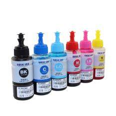 INKWAY 6*70ml high quality dye ink for Epson L1800 A3 Photo Ink Tank  Printer,ink code T673