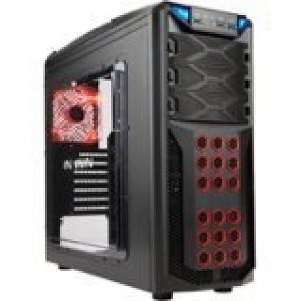 Inwin Development GT1BLACK ATX In Win Gamer Chassis Cases GT1 (black) - intl