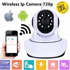 Ip Cam 720p Hd Wifi Home Office Security Camera P2p Pan Tilt Wireless Cctv Night Vision (m32b) By Crc Mall.