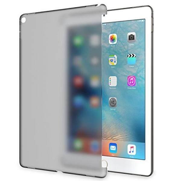Ipad Pro 12.9 Case-Moko Buram Transparan Plastik Keras Tipis Pelindung Punggung HP untuk iPad Pro 12.9 2015 Rilis Tablet, Buram Hitam-Intl